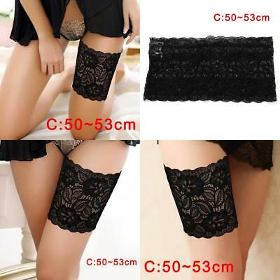 Lady Summer Anti-Chafing Thigh Elastic Socks Bands Prevent Thigh 50-53cm_zg