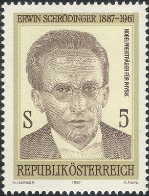Austria 1987 Erwin Schrodinger/Physicist/Physics/Science/People 1v (a1138a)