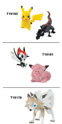 "POKEMON T19180 ""Pikachu Z-Move vs Salandit"" Action Figure Set"