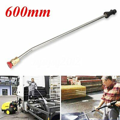 Pressure Washer Wash Nozzle Angled Lance Extension 60 cm For Karcher K2 K3 K4 uk