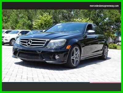 2009 Mercedes-Benz C-Class 6.3L AMG 2009 6.3L AMG Used 6.2L V8 32V Automatic Rear Wheel Drive Sedan Premium