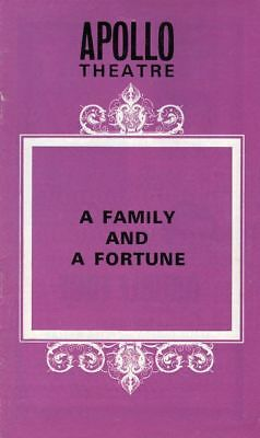 "Alec Guinness London Playbill ""A Family and a Fortune"""