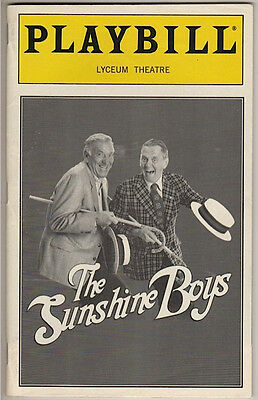 "Jack Klugman & Tony Randall ""The Sunshine Boys""  Playbill  1998"