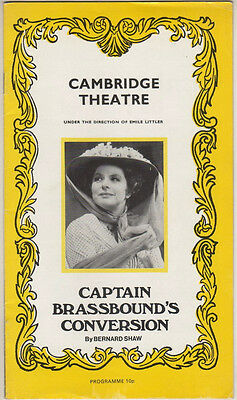 "Ingrid Bergman  ""Captain Brassbound's Conversion""  Playbill London 1971"