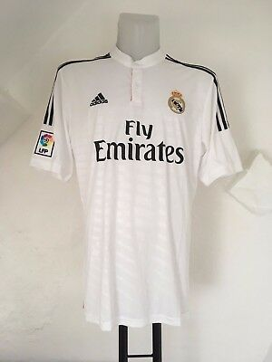 Real Madrid 2014/15 S/s Home Shirt By Adidas Size Adults Xl Brand New With Tags