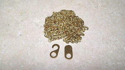 Brass Chain For Cuckoo Clocks  New Parts Clock Part #38
