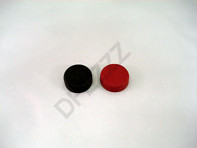 Rubber Switch Cover Set, 1 Red & 1 Black For Hobart Mixers D300, H600,l800, M802