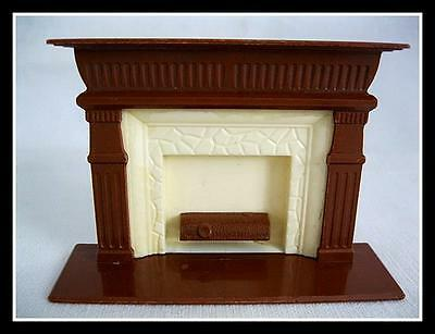 Antique Vintage Reliable Dollhouse Furniture Fireplace