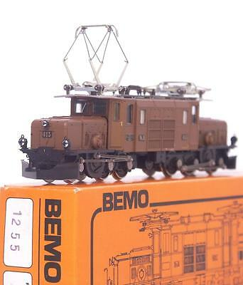 BEMO 1255 HOm - SWISS RhB Ge 6/6 ARTICULATED CROCODILE KROKODIL LOCOMOTIVE 413