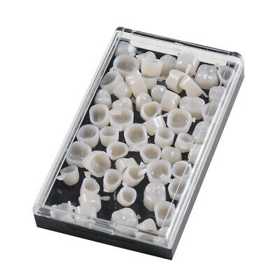 70Pcs/Box Pro Dental Temporary Tooth Crown Anterior Molar Type Veneers Teeth