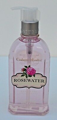 Crabtree & Evelyn 'rosewater' Conditioning Handwash:   250 Ml - New!!