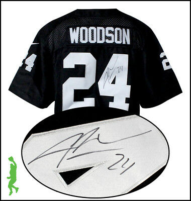 Charles Woodson Autographed Signed Oakland Raiders Football Jersey Beckett Coa