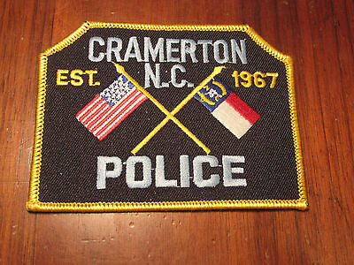 Cramerton North Carolina Police Patch
