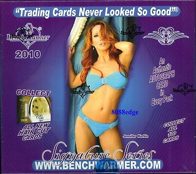 2010 Benchwarmer Signature International Sealed Box! Only 99 Cases Made !