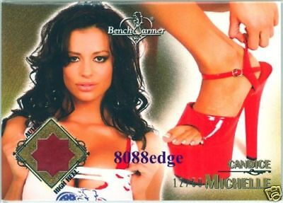 2007 Benchwarmer High Heel Shoe: Candice Michelle #12/50 Playboy Cyber Go Daddy