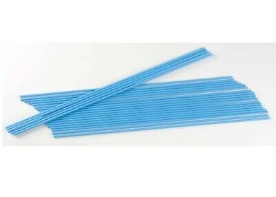 "NEW Dubro Neon Blue 12-1/4x1/8"" Antenna Tube Standard size (24pcs) 2356"