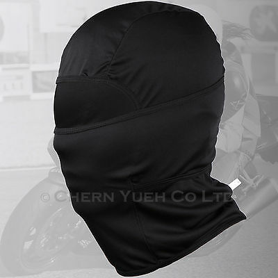 Black Cotton Motorbike Motorcycle Helmet Soft Balaclava Ghost Bikes Face Mask