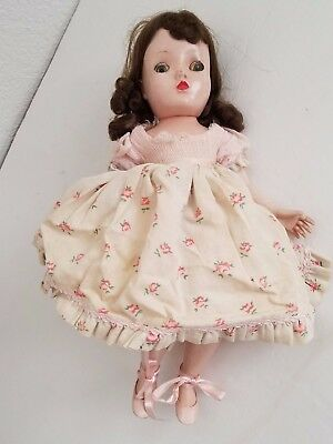 Vintage Madame Alexander Doll For Restore Or Parts Beautiful Bent Knee Maggie?