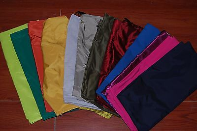 """Lot of 12 pc Heavy Duty Assorted Color New Laundry Bags 27""""x39"""" Free Shipping"""