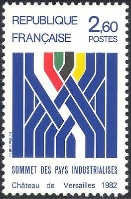 France 1982 Industrialized Countries Summit/Industry/Business/Trade 1v (n44202)