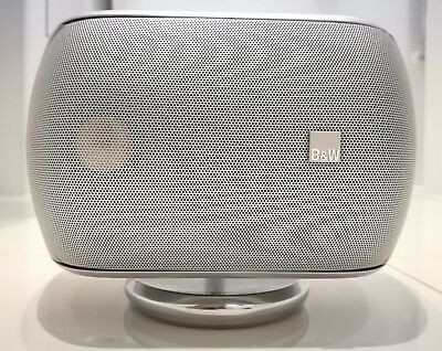 1 x Bowers & Wilkins B&W M1 Home Cinema Surround Sound Centre Speaker in Silver