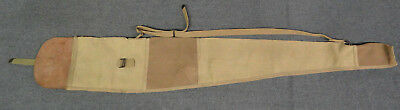 Original WWI Canvas and Leather Springfield Rifle Carry Case