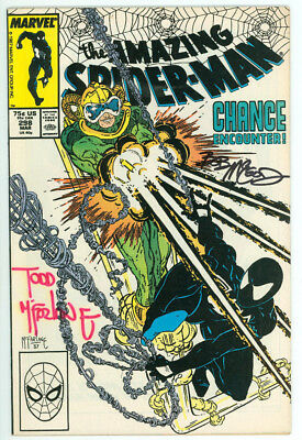 Amazing Spider-man #298 Signed Mcfarlane Mcleod Marvel 1988