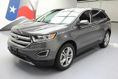 2016 Ford Edge Titanium Sport Utility 4-Door 2016 FORD EDGE TITANIUM ECOBOOST AWD TECH NAV 36K MILES #B67847 Texas Direct