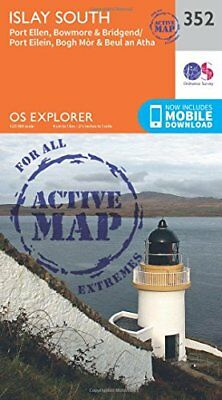 Islay South (OS Explorer Active Map) New Map Book Ordnance Survey