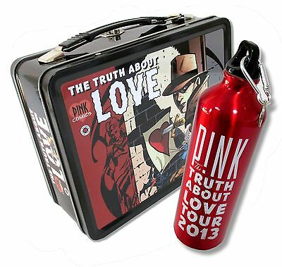 Pink P!nk 2 Piece Gift Set Water Bottle And Lunch Box The Truth About Love