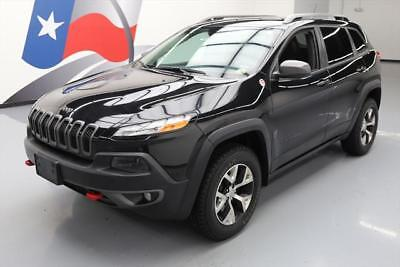 2015 Jeep Cherokee  2015 JEEP CHEROKEE TRAILHAWK 4X4 HTD SEATS REAR CAM 30K #575701 Texas Direct