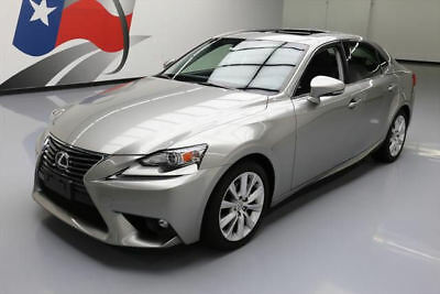 2015 Lexus IS  2015 LEXUS IS250 PADDLE SHIFTERS SUNROOF REAR CAM 16K #076416 Texas Direct Auto