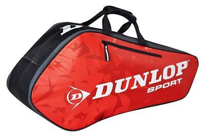 Dunlop Tour 6r Bag Red 6 Rackets Black   Red