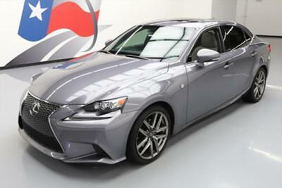 2014 Lexus IS  2014 LEXUS IS250 F SPORT HTD SEATS SUNROOF REAR CAM 63K #007542 Texas Direct