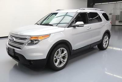 2015 Ford Explorer Limited Sport Utility 4-Door 2015 FORD EXPLORER LIMITED 7-PASS NAV REAR CAM 20'S 62K #B80456 Texas Direct
