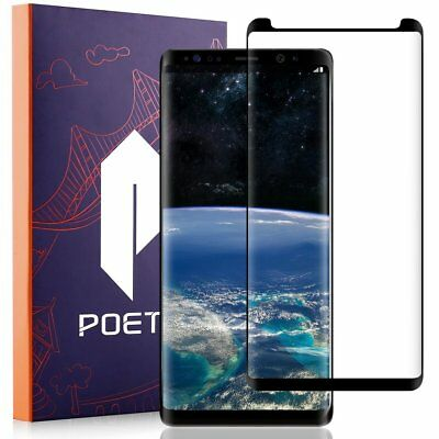 Poetic For Samsung Galaxy Note 8 Tempered Glass Screen Protector Film 2 Colors