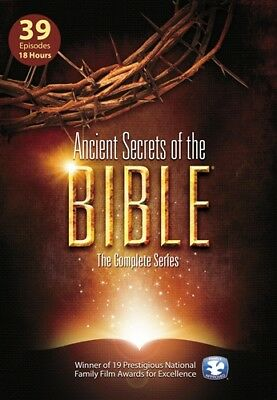 ANCIENT SECRETS OF THE BIBLE New Sealed 5 DVD Set