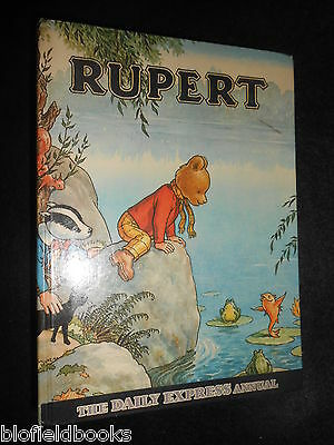 The RUPERT ANNUAL 1969 - Vintage Children's Illustrated Stories/Express Cartoons