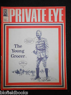 PRIVATE EYE - Vintage Satirical Political News Humour Magazine -  28th July 1972