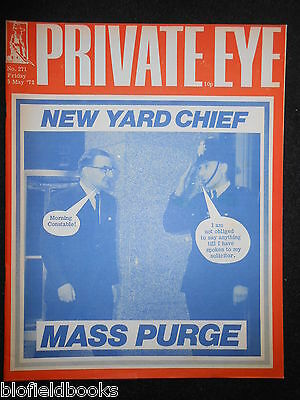 PRIVATE EYE - Vintage Satirical Political News Humour Magazine - 5th May 1972