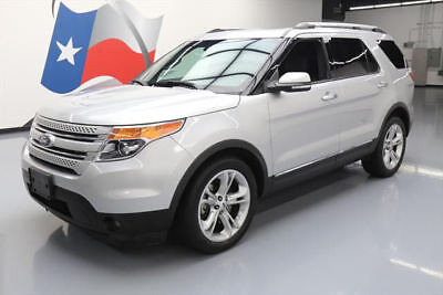 2015 Ford Explorer Limited Sport Utility 4-Door 2015 FORD EXPLORER LTD LEATHER PANO SUNROOF 20'S 40K MI #A35035 Texas Direct