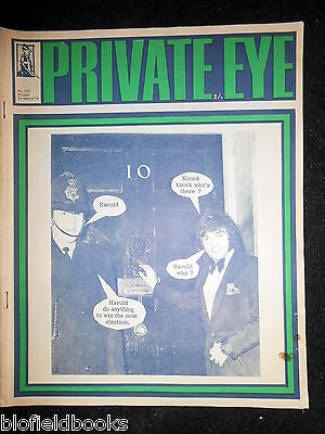 PRIVATE EYE - Vintage Satirical Political News Humour Magazine - 13th March 1970