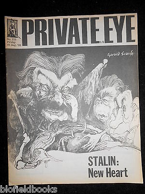 PRIVATE EYE - Vintage Satirical Political Humour Magazine - 30th August 1968