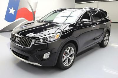 2016 Kia Sorento SX Sport Utility 4-Door 2016 KIA SORENTO SX V6 LEATHER PANO ROOF NAV 7-PASS 27K #109581 Texas Direct