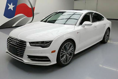 2016 Audi A7  2016 AUDI A7 3.0T QUATTRO PREM PLUS AWD SUNROOF NAV 31K #006301 Texas Direct