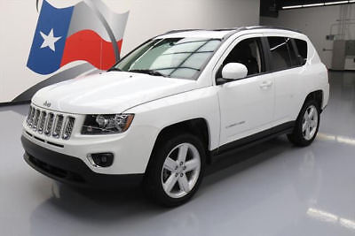 2014 Jeep Compass  2014 JEEP COMPASS HIGH ALTITUDE SUNROOF HTD LEATHER 23K #888751 Texas Direct