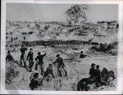 Press Photo Battle of Petersburgh-Union soldiers - cvb10431