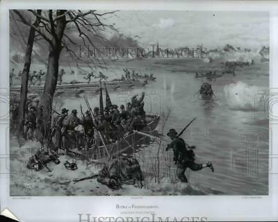 1963 Press Photo Battle of Fredericksburg in Virginia - cvb10406