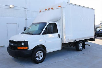 2011 CHEVY EXPRESS 3500 BOX TRUCK THIEMAN LIFTGATE 21K #122972 Texas Direct Auto