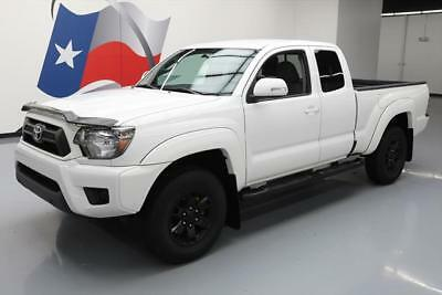 2015 Toyota Tacoma Base Extended Cab Pickup 4-Door 2015 TOYOTA TACOMA 4X4 ACCESS CAB 5-SPD SIDE STEPS 49K #031252 Texas Direct Auto